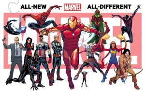 All New All Different Marvel Post Secret Wars 2015 Teaser 1 David Marquez