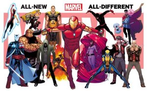 All New All Different Marvel Post Secret Wars 2015 Teaser 2 David Marquez