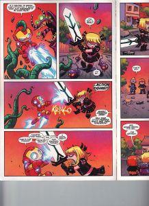 Giant Size Little Marvel AvX 1 Magik v Iron Man