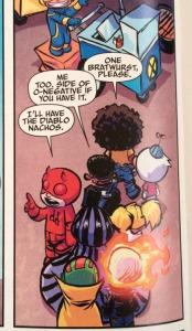 Giant Size Little Marvel AvX 1 Poor Blind Daredevil