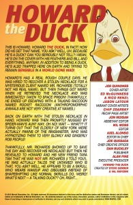 Howard the Duck 4 Recap Page