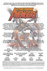 New Avengers 51 Recap Page