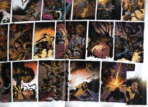 Secret Wars Journal 1 Shadowcat double splash