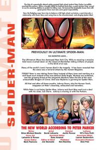 Ultimate Spider-Man V2 4 Recap Page