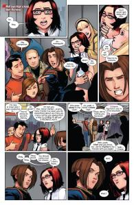 Ultimate Spider-Man Volume Two Issue 6 Kitty Pryde 4
