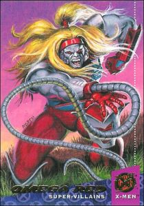 X-Men Ultra Collection 2 Earl Norem Omega Red