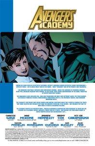 Avengers Academy 3 Recap Page