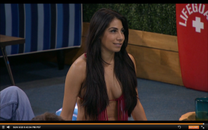 BB17 Jackie red string bikini