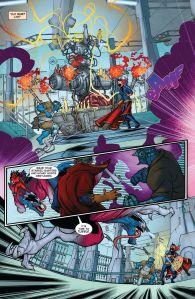 Inferno 3 Darkchild v Beast and Doctor Strange