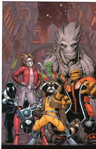 Marvel October 2015 Solicitations Guardians of the Galaxy 1 Art Adams cover