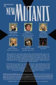 New Mutants V3 4 Recap