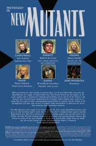 New Mutants V3 4 Recap