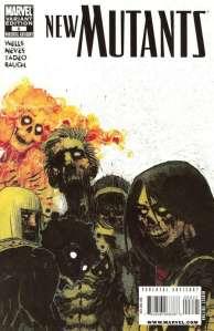 New Mutants V3 6 Zombie Variant