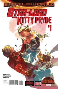 Star Lord and Kitty Pryde 1