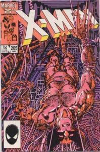 Uncanny X-Men 205