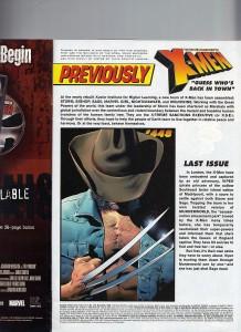 Uncanny X-Men 449 Recap Page
