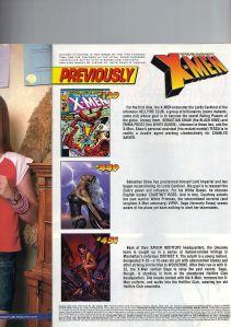Uncanny X-Men 452 Recap Page