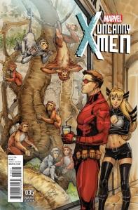 Uncanny X-Men V3 35 Oum Variant