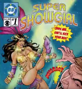 BB17 Comics Jackie Super ShowGirl