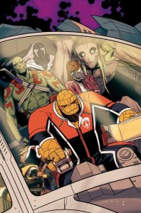 Marvel November 2015 Solicitations Guardians of the Galaxy 2 Art Adams Cover