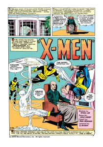 Uncanny X-Men 1 First Page
