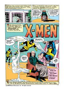 Uncanny X-Men 1 First Page