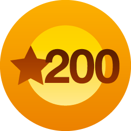 WordPress 200 Likes