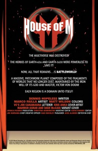 House of M V2 1 Recap