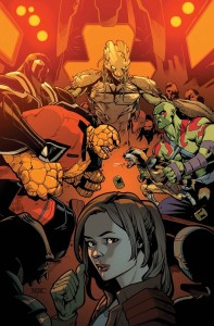 Marvel December 2015 Solicitations Asrar Guardians of the Galaxy 3 StarLady Kitty Pryde
