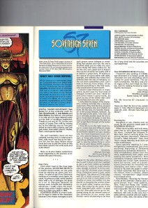 Sovereign Seven 3 Recap Page