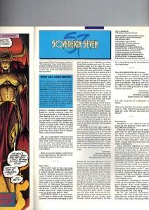 Sovereign Seven 3 Recap Page