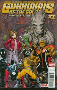 Guardians of the Galaxy V4 1 Art Adams Cover