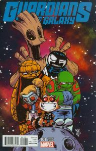 Guardians of the Galaxy V4 1 Skottie Young Baby Cover