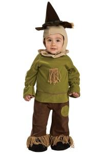Walker Dennis 2nd Halloween Costume 2015 Scarecrow