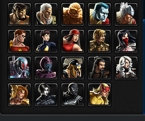 Avengers Alliance Heroes, Recuited Since August 2014