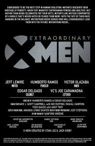 Extraordinary X-Men 1 Recap Page