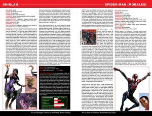 Secret Wars Official Guide to the Marvel Multiverse Spider-Man Morales 1