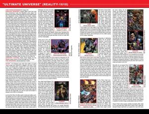 Secret Wars Official Guide to the Marvel Multiverse Ultimate Universe 1