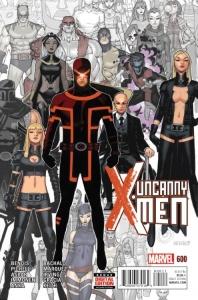 Uncanny X-Men 600 Bachalo Cover