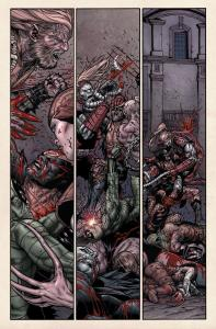 Wolverine V3 70 Dead Villains 4