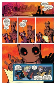 Groot 6 Kitty Pryde 1