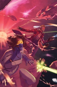 Marvel MARCH 2016 Solicitations Guardians of the Galaxy 6 Campbell cover