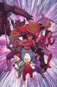 Marvel MARCH 2016 Solicitations Howard the Duck 5 Joe Quinones cover