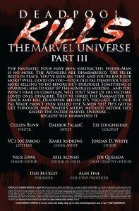 Deadpool Kills the Marvel Universe 3 Recap