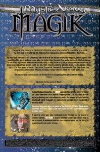 Mystic Arcana Magik Recap
