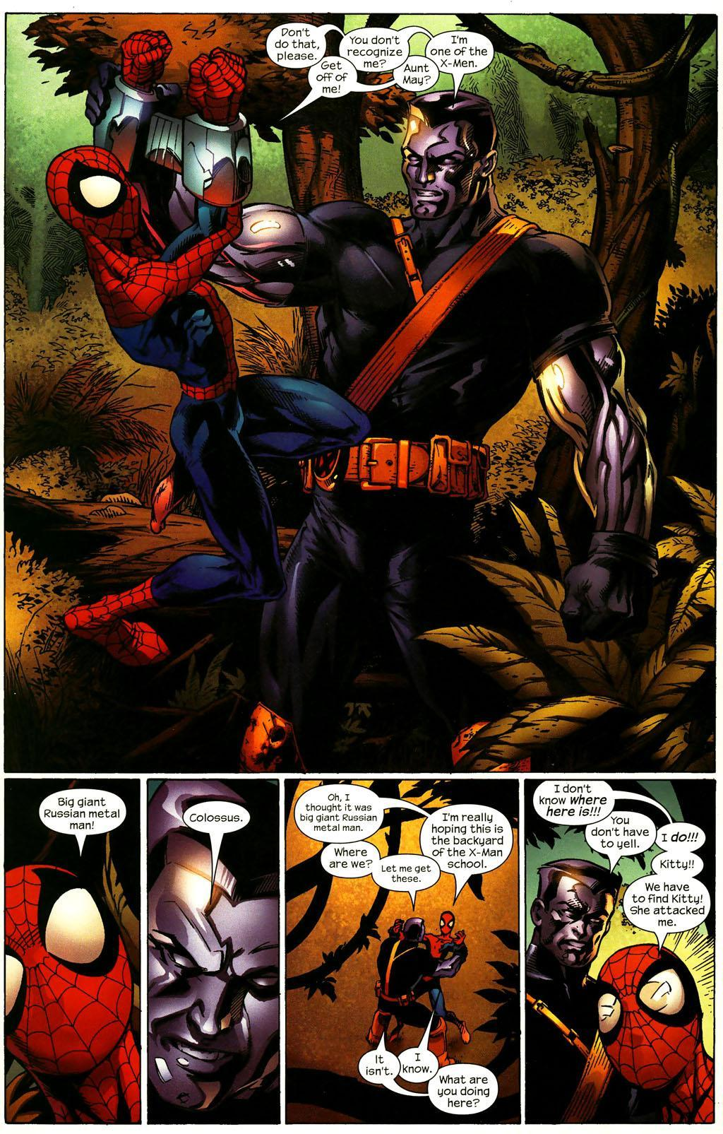 Ultimate Spider-Man 92 | Shadow and Flame with Magik