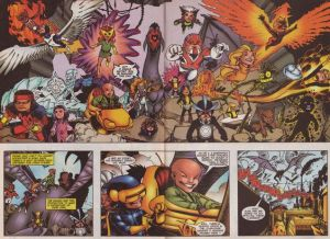 All New Official Handbook of the Marvel Universe A - Z 12 Juvaun Kirby X-Babies