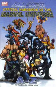 All New Official Handbook of the Marvel Universe A - Z 12