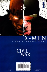 Civil War X-Men 1
