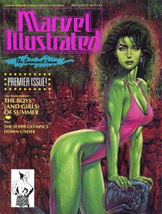 Marvel Illustrated 1991 Swimsuit Issue